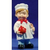Cocinero naïf 10 cm marmolina Oliver