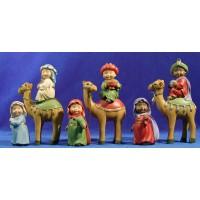 Reyes a camello naïf 10 cm marmolina Oliver