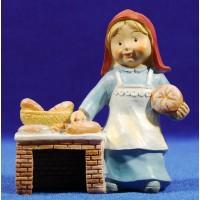 Pastora panadera naïf 10 cm marmolina Oliver
