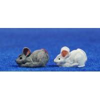 Ratón 1,5 cm resina belénes Puig