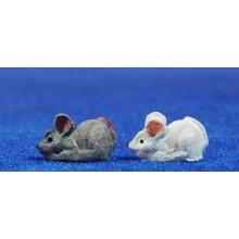 Ratón 1,5 cm resina Belenes Puig