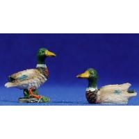 Pato color 8-10 cm resina Belenes Puig