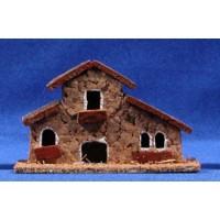 Casa 11x4x7 cm corcho Belenes Puig