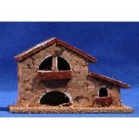 Casa masia 11x4x7 cm corcho belénes Puig