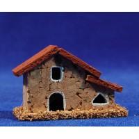 Casa modelo 1 6x3x4 cm corcho Belenes Puig