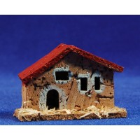 Casa modelo 3 6x3x4 cm corcho Belenes Puig