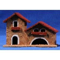 Casa modelo 1 13x5x8 cm corcho belénes Puig