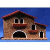 Casa modelo 3 13x5x8 cm corcho Belenes Puig