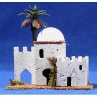 Casa hebrea puerta muralla 12x8x12 cm corcho belénes Puig