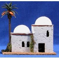 Casa hebrea 12x8x12 cm corcho belénes Puig