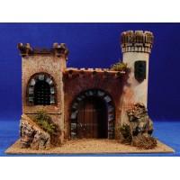 Castillo 8 cm corcho Belenes Puig