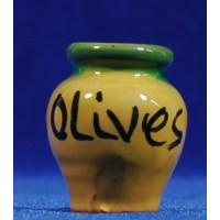 Bol olivas 3 cm barro