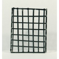 Reja cuadrada simple 5 cm metal Belenes Puig