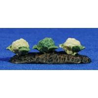 Campo coliflores 7 cm resina