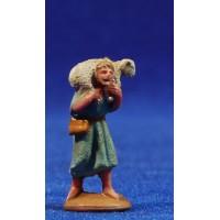 Pastor con cordero al cuello 3 cm plástico belénes Puig