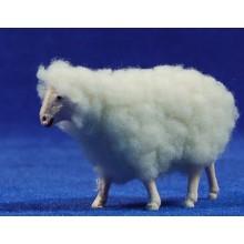Cordero con lana 10 cm plástico Belenes Puig
