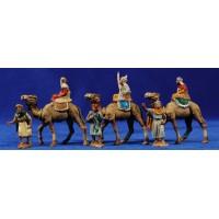 Reyes a camello 4 cm plástico Belenes Puig
