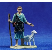 Pastor con cordero 8 cm plástico belénes Puig