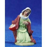 Pastora adorando 8 cm plástico Belenes Puig