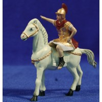 Romano a caballo 8 cm plástico Belénes Puig