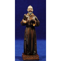 San Pio 10 cm resina