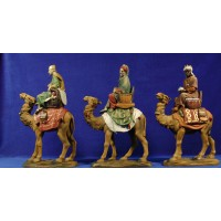 Reyes a camello 18 cm resina