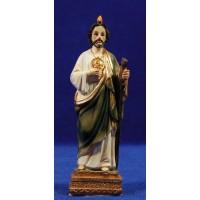 San Judas Tadeo 12 cm resina