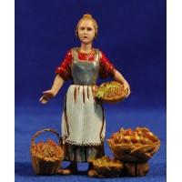 Vendedora de verduras 10 cm plástico Moranduzzo estilo 700