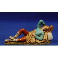 Pastor durmiendo 10 cm plástico Moranduzzo - Landi estilo 700