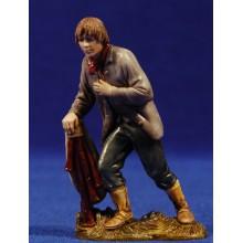Pastor adorando con gaita 10 cm plástico Moranduzzo - Landi estilo 700