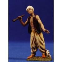 Pastor con flauta 10 cm plástico Moranduzzo - Landi estilo ebraico