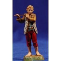 Flautista músico de pie 10 cm plástico Moranduzzo - Landi estilo 700