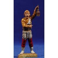 Pastor con farol 10 cm plástico Moranduzzo - Landi estilo 700