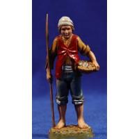 Pescador de pie 10 cm plástico Moranduzzo - Landi estilo 700