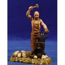 Pastor herrero 10 cm plástico Moranduzzo - Landi