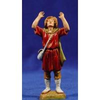 Pastor meravillado 10 cm plástico Moranduzzo - Landi estilo 700