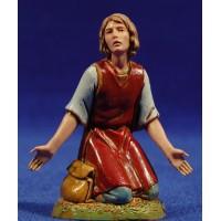 Pastora adorando con brazos abiertos 10 cm plástico Moranduzzo - Landi estilo 700