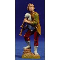 Gaitero joven músico 10 cm plástico Moranduzzo - Landi estilo 700