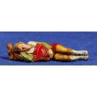 Pastor durmiendo 8 cm plástico Moranduzzo estilo 700