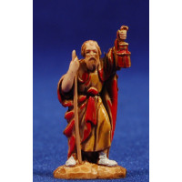 Pastor con farol 3,5 cm plástico Moranduzzo - Landi estilo 700