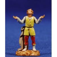 Pastor maravillado 3,5 cm plástico Moranduzzo - Landi estilo 700