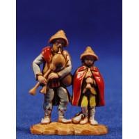 Gaiteros músicos 3,5 cm plástico Moranduzzo - Landi estilo 700
