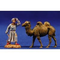 Pastor mirando con camello 3,5 cm plástico Moranduzzo - Landi estilo ebraico