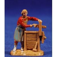 Carpintero con banco 3,5 cm plástico Moranduzzo - Landi estilo 700