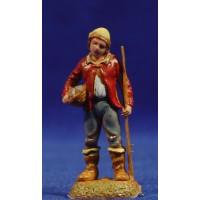 Pescador de pie 6 cm plástico Moranduzzo - Landi estilo 700