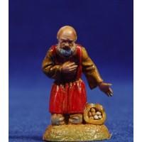 Pastor adorando 6 cm plástico Moranduzzo - Landi estilo 700