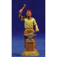 Pastor herrero 6 cm plástico Moranduzzo - Landi