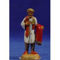 Pastor con drapos 6 cm plástico Moranduzzo - Landi estilo ebraico