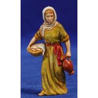 Pastora con jarra 8 cm plástico Moranduzzo - Landi estilo 700