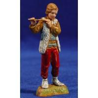 Flautista 8 cm plástico Moranduzzo - Landi estilo 700